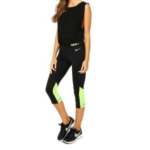8fc93852d4f0ed Nike Pants | Pro 20 Compression Capri Leggings | Poshmark